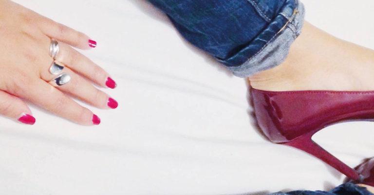 Création identité visuelle - logo - influenceuse - lipstick & stilettos