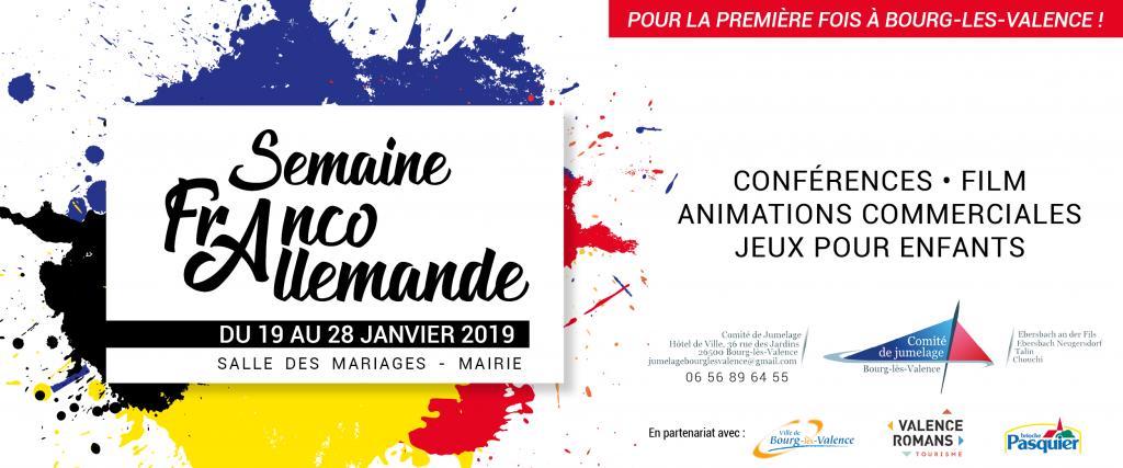 Semaine Franco-Allemande Bourg-Lès-Valence