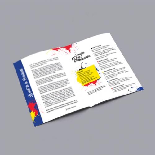 Programme semaine Franco allemande Comité jumelage BLV 2019