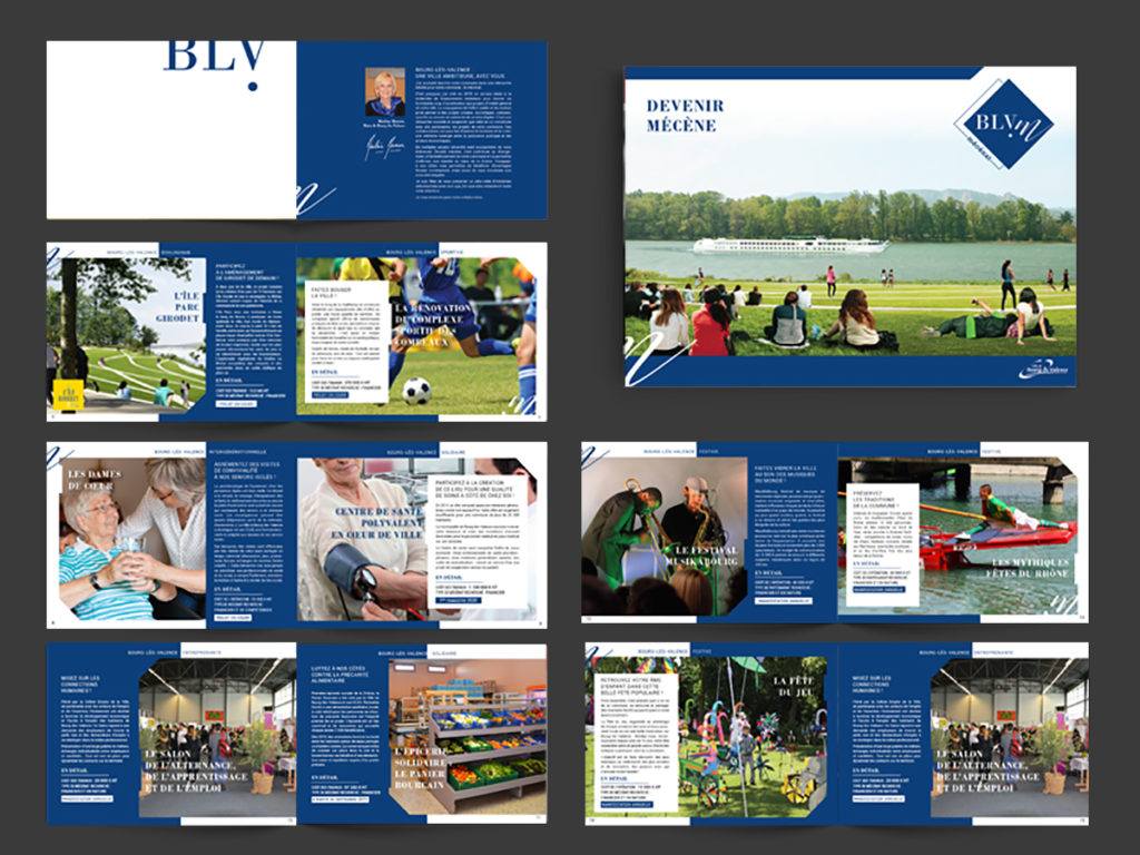 Brochure présentation Mécénat de la ville de Bourg-Lès-Valence
